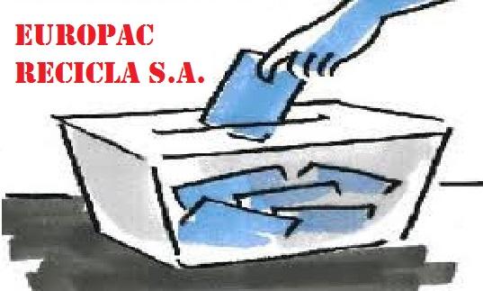ELECCIONES SINDICALES EUROPAC RECICLA S.A.