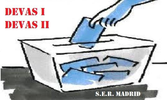 ELECCIONES SINDICALES EN DEVAS 1 Y DEVAS 2 DEL S.E.R. MADRID