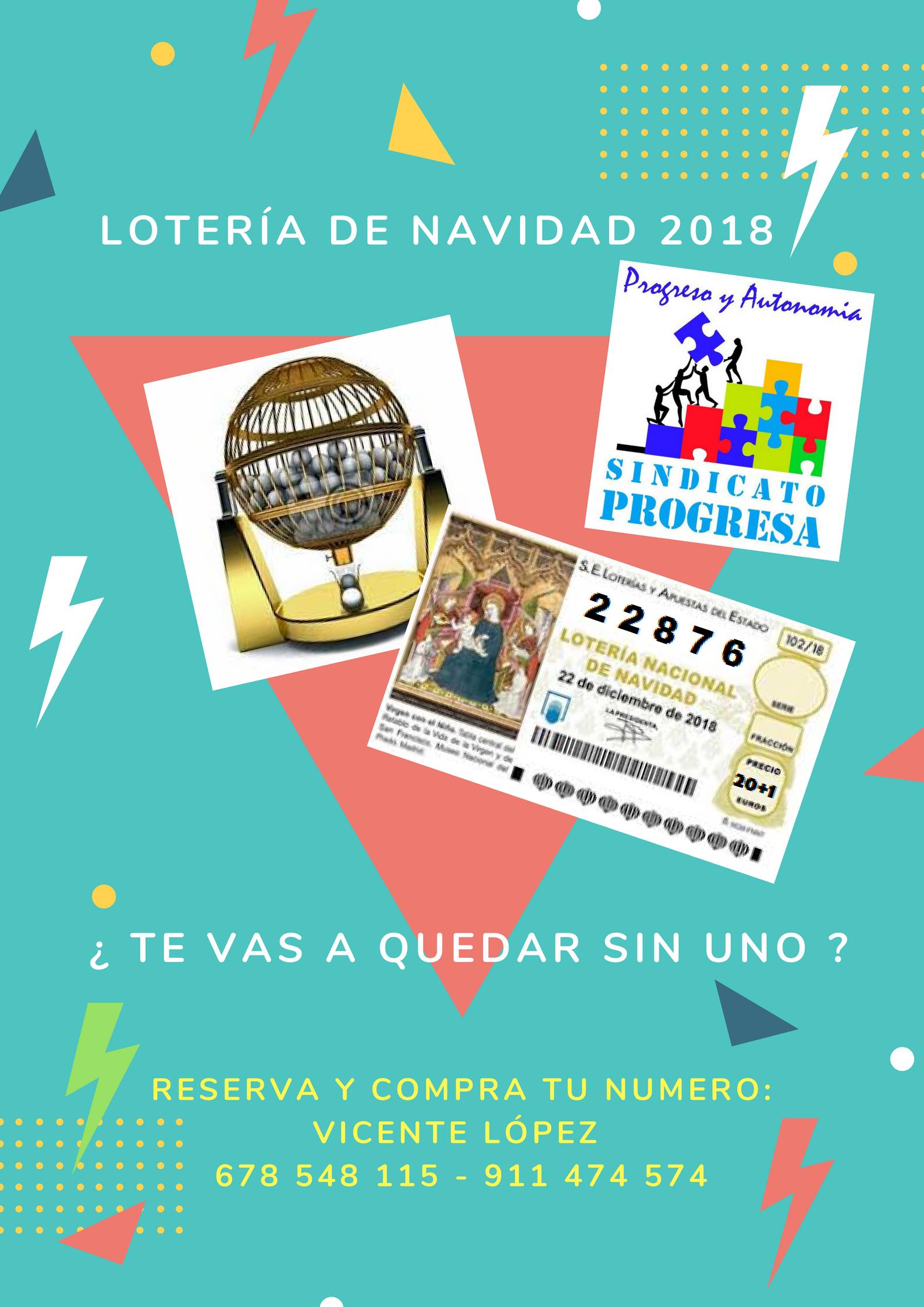 Imagenes Loteria Navidad.Loteria Navidad 2018 Tu Sindicato De Cabecera